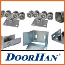 Комплекты деталей для откатных ворот  DoorHan с массой створки до 300 кг и шириной проезда до 3.4 метра.