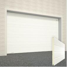 Гаражные секционные ворота с торсионными пружинами RSD02