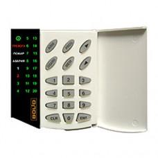 С2000-КС, клавиатура светодиодная на 20 зон