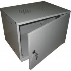 BNP4009.1 Шкаф монтажный (телекоммуникационный) настенный 9U 448х520х400мм (ВШГ), разборный.