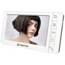 """Amelie - SD (White) Монитор видеодомофона, цв. TFT LCD 7"""" PAL/NTSC Hands-free запись фото при вызове 2 панели 2 камеры до 4-х шт. в параллель 12 мелодий 220В 50мА"""