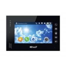 """BAS-IP AN-07 B v3, Монитор индивид. Touch Screen 7"""", c памятью на SD карту, с возможностью подключ. системы безопасности, видеоинтерком, фоторамка, проигрыватель видеофайлов, умный дом. Просмотр 16 IP камер. Поддержка SIP протокола. Цвет черный."""