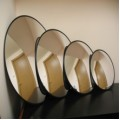 Зеркало для помещений круглое  на стену  D =900