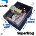 Комплект для автоматизации распашных ворот Super Frog