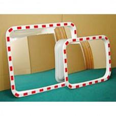 Зеркало дорожное со световозвращающей окантовкой 600*800